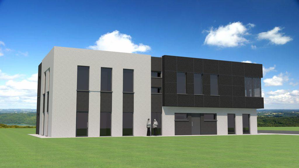 02 projekt budynku uslugowego sklep