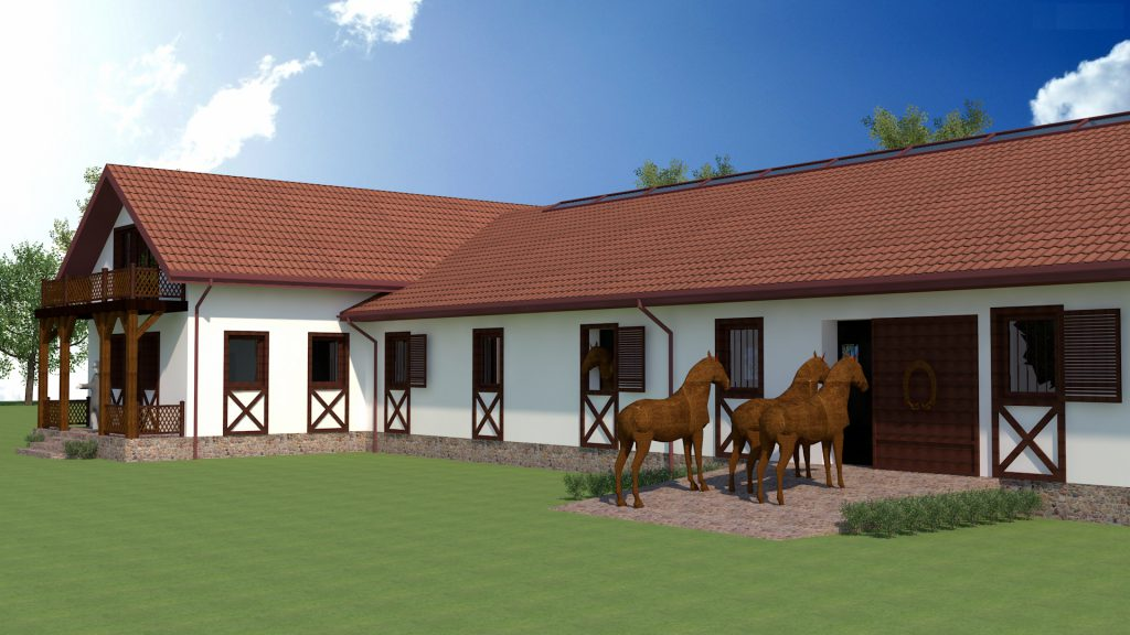 10 projekty stajni dla koni