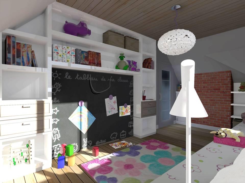 10 projekt pokoju dla dziecka
