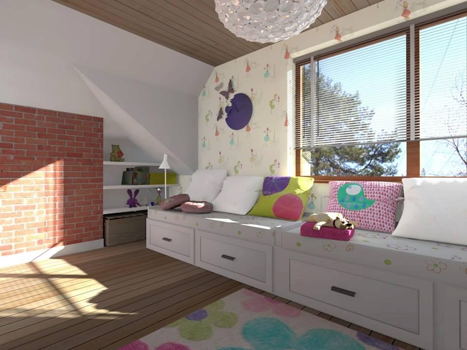 12 projekty pokoi dzieciecych