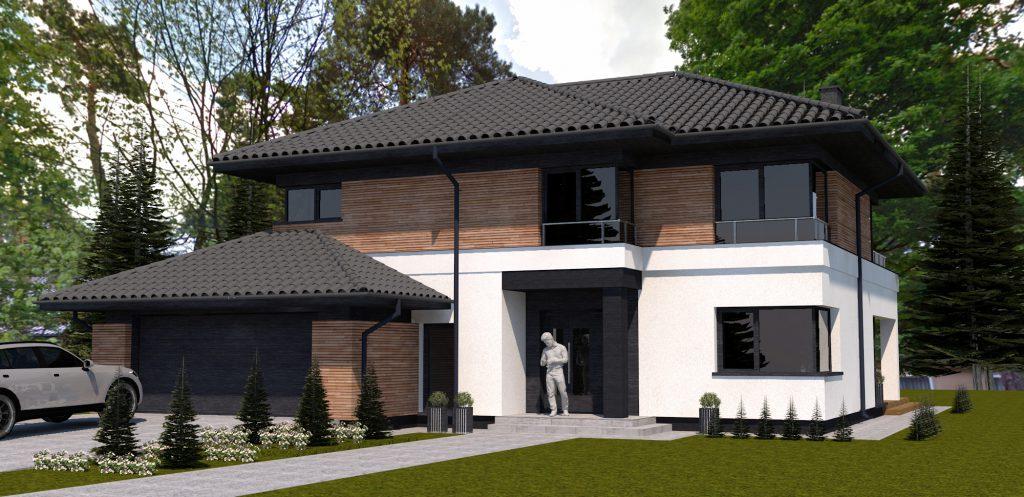 13 idealny projekt domu warszawa