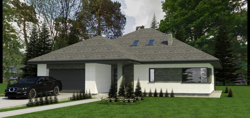 1a budynek mieszkalny projekt