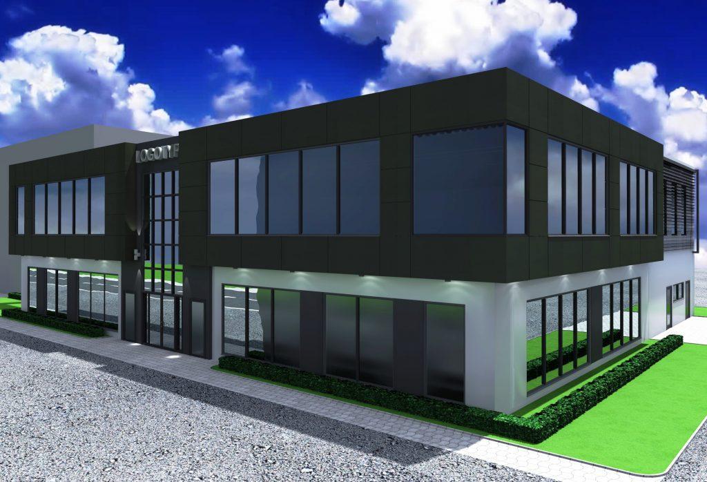 1a budynek uslugowy projekt restauracja