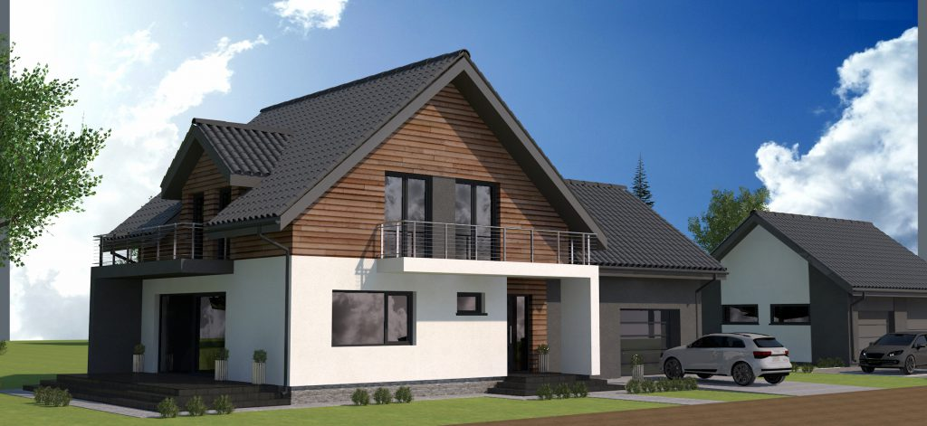 1a gotowy projekt domu