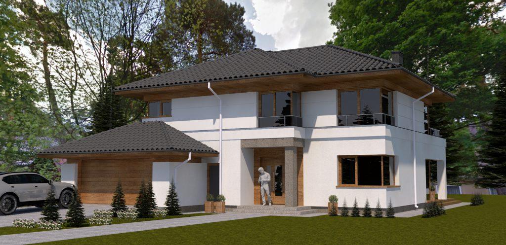 1a projekt domu wyszkow