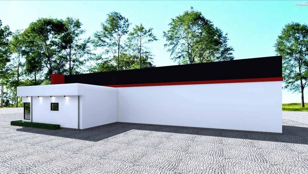 2 budynek stacji kontroli pojazdow projektow