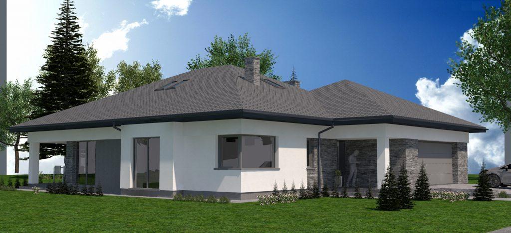 2 nowoczesny projekt domu w wyszkowie