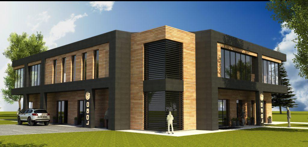 3 projekt budynku gospodarczego