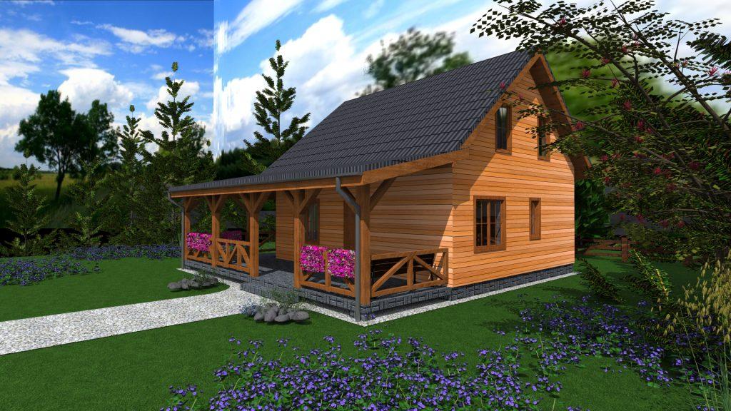 3 projekt domu kanadyjskiego