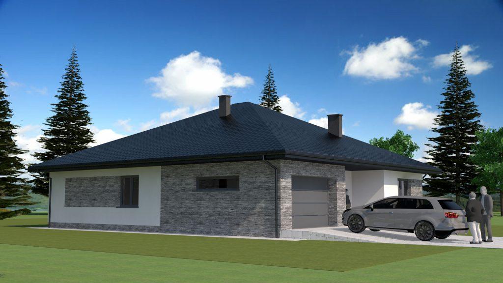 4 budynek mieszkalny projekt