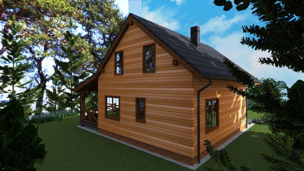 4 domki drewniane letniskowe wyszkow