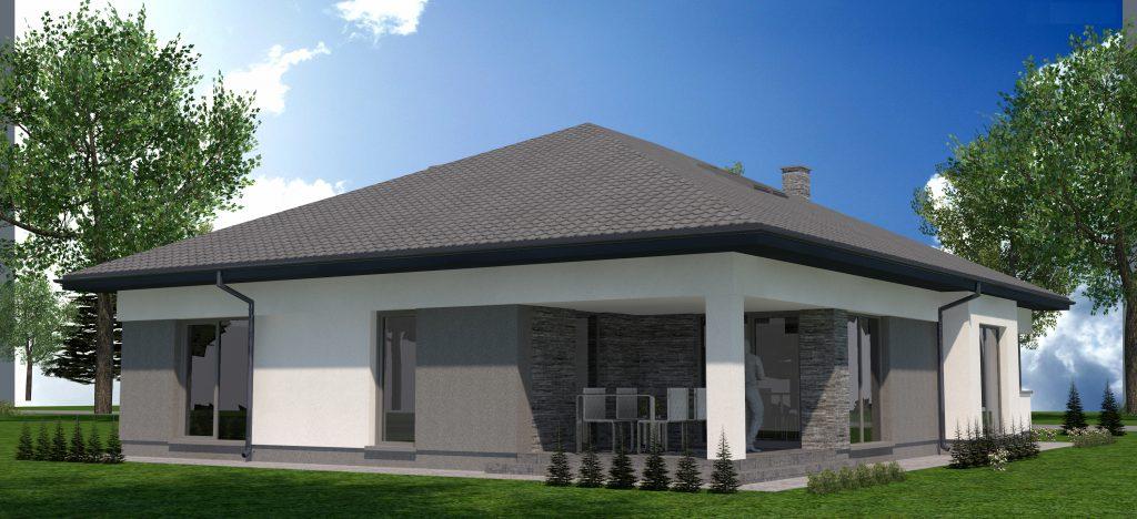 4 projekt domu energoszczednego