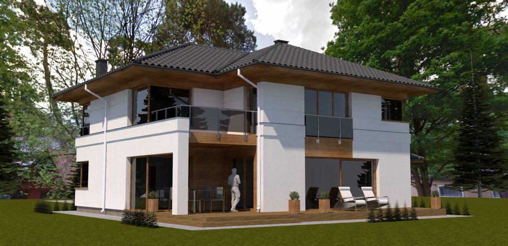5 projekt domu optymalny