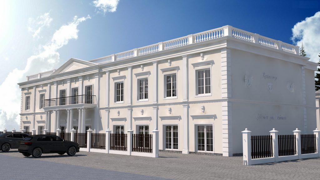 5 sala weselna architekt projekt