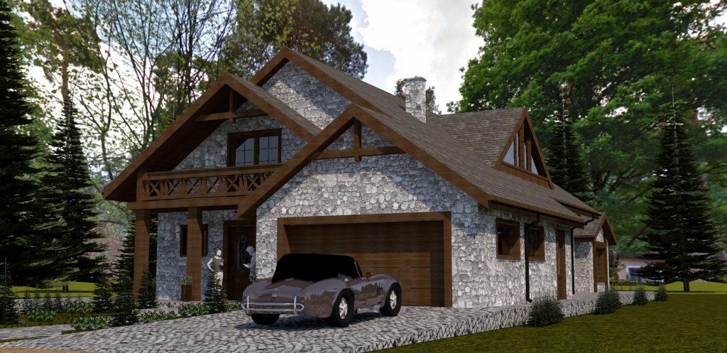 9 projekt domu 3d