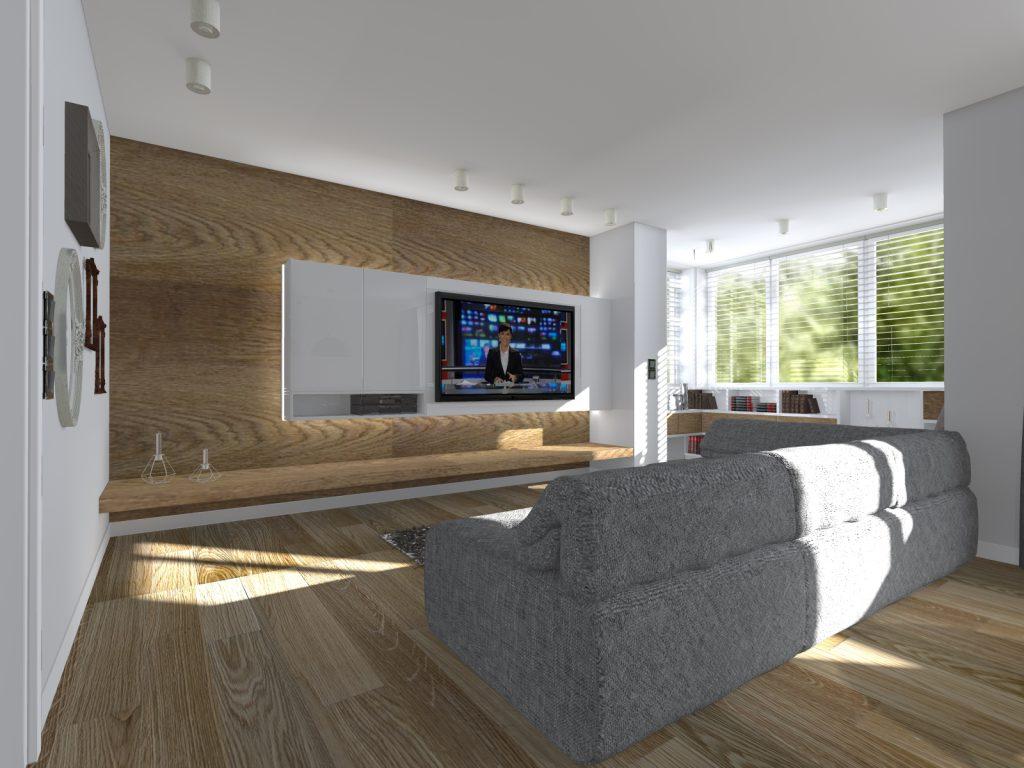 A1 projekt wnetrza domu w wyszkowie
