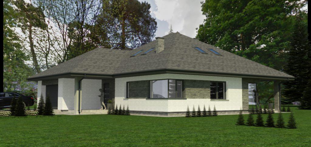 B projekt domu