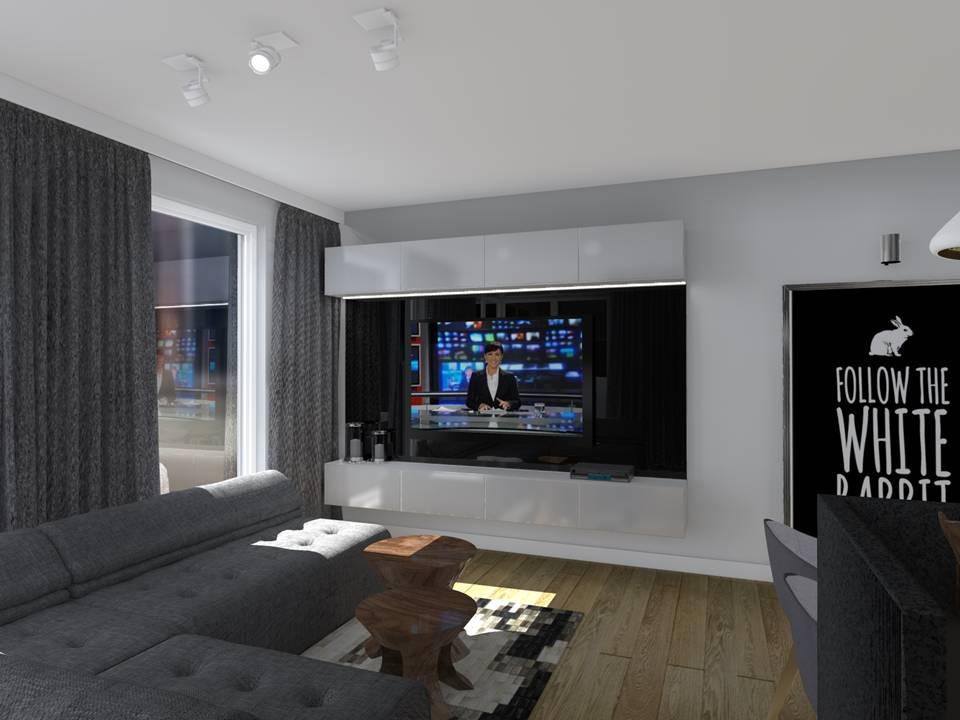 Stylizacja mieszkania dla mezczyny