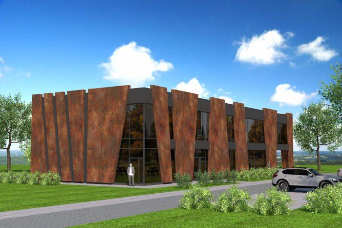 1a architekt wyszkow projekt budynku uslugowego