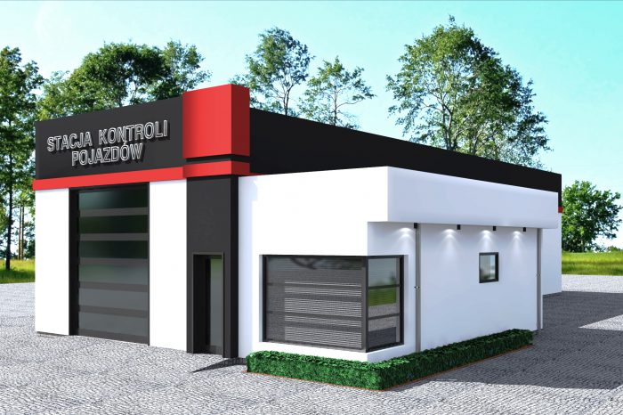 1a budowa stacji kontroli pojazdow