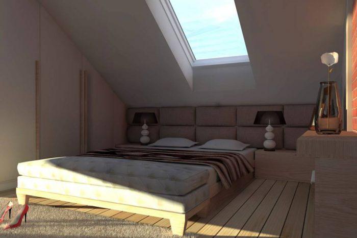 1a projekt sypialni wyszkow